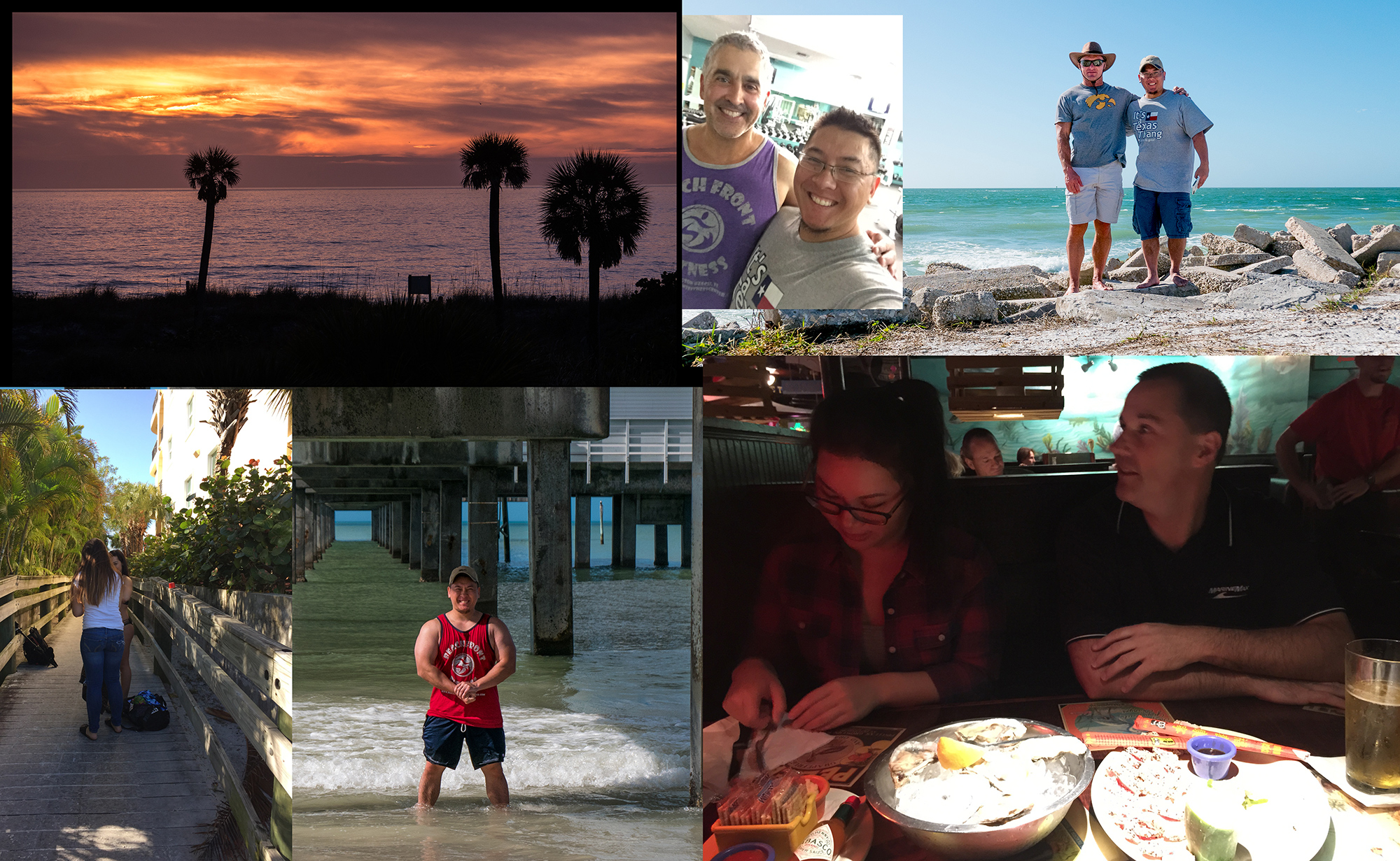 Finally (as hinted on the opening photo), I spent my Christmas in Florida. I saw my good old friend Scott as he showed me beautiful beaches.  I also saw my sister (with her boyfriend), who lives there, and besides catching up we also had a blast talking shit about our disowned brother :D    It was a great trip to get out of the cold.  I'll have more photography-oriented pictures in another blog entry soon.