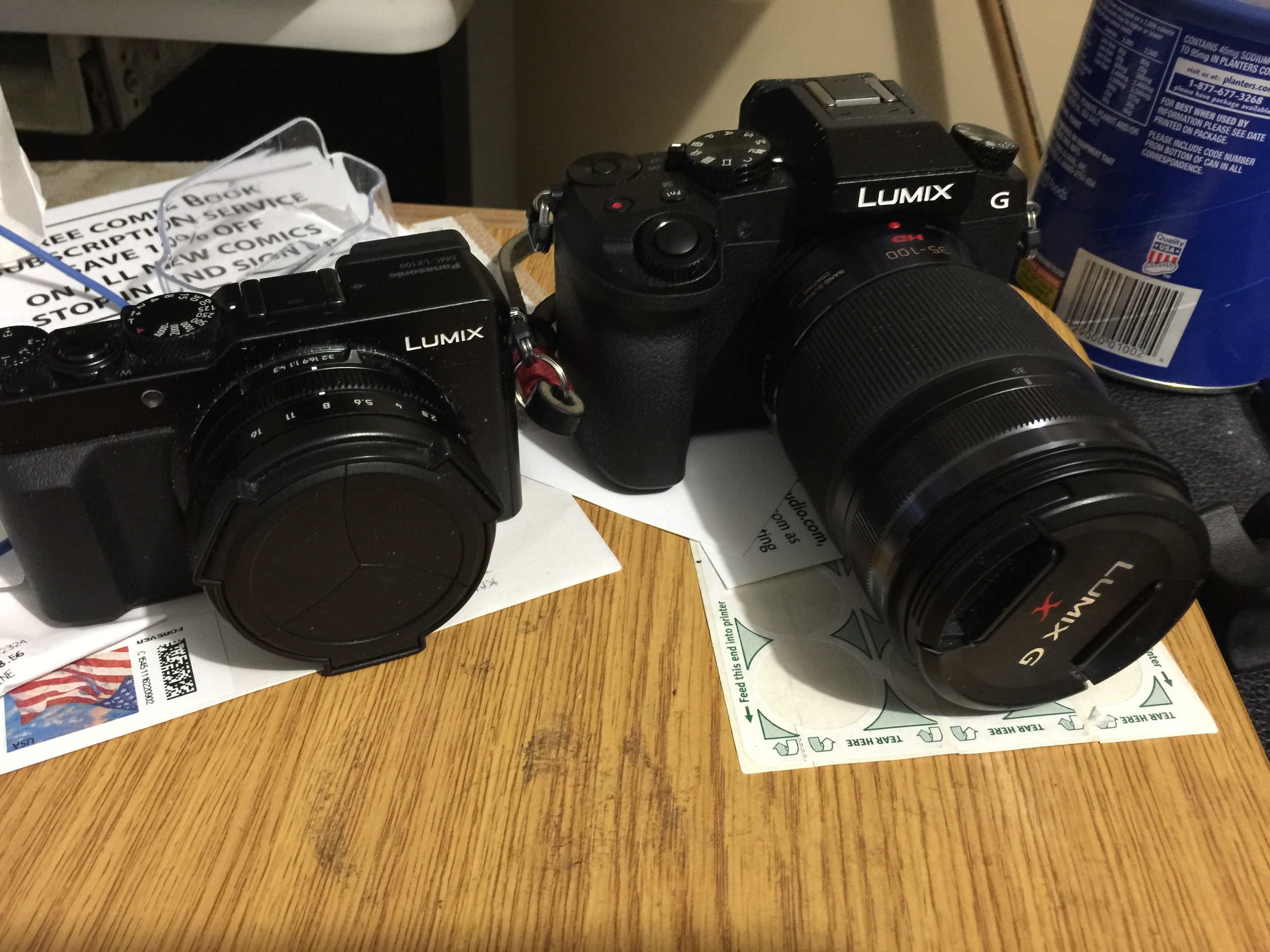 "My two most used cameras that I always had on me due to their size: the compact  Panasonic LX100  (for my wide/normal zoom) and my  Panasonic G7 + 35-100mm/2.8  telephoto lens.  I also brought my Sony A7Rii, but took very few ""travel"" photos with it (I did, however, have an impromptu photography gig that I used it for).  Click each photo to enlarge:"
