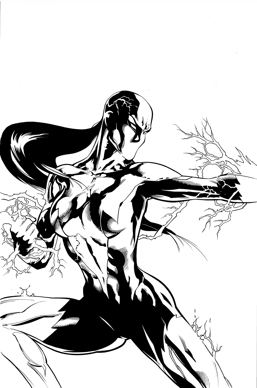 Pencils by Doug Mahnke, inks by Keith Champagne