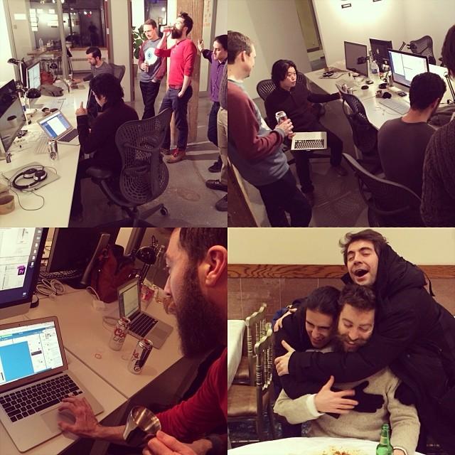 The Toronto product development team