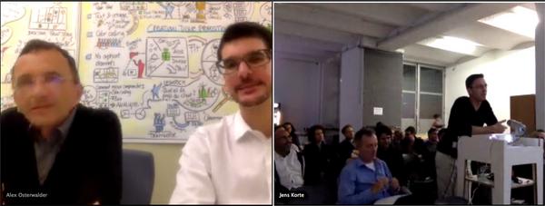 Berlin Meets Value Proposition Design with @ podojo  & @ JensKorte
