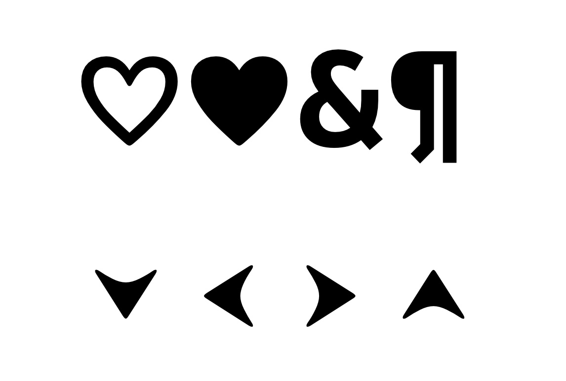A few special marks add a pinch of personality and delightful details for the reader.
