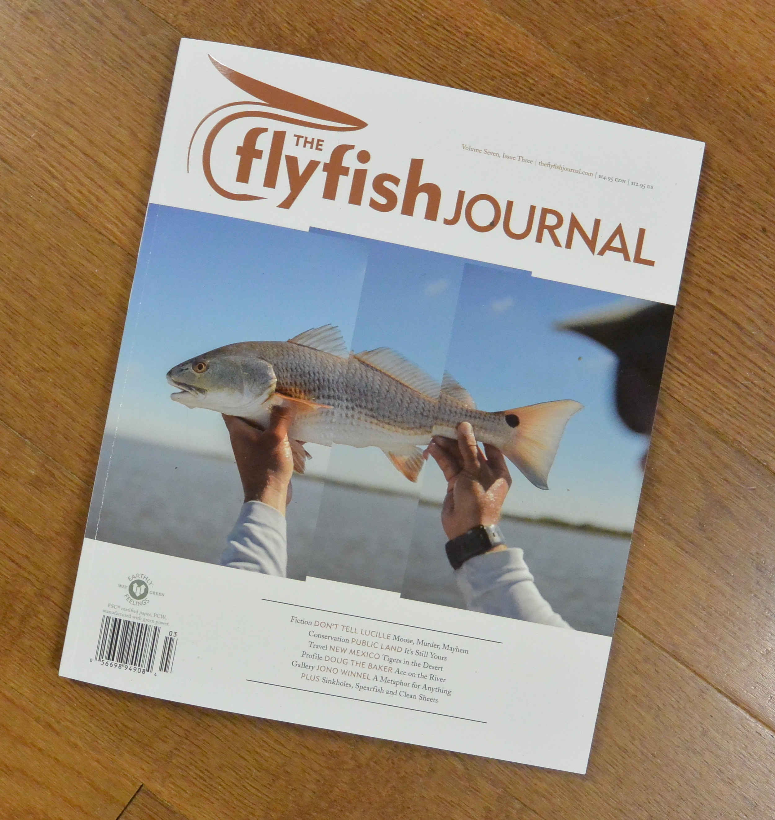 FlyFish Journal - Go to Illustrations for more images