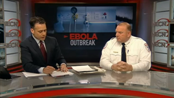 10-13-14 — NECN: Ambulance Company on Transportation of Patient With Possible Ebola Symptoms