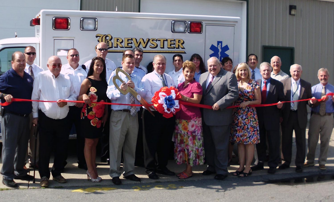 8-14-12 — Photo Gallery: Attleboro Base Ribbon Cutting