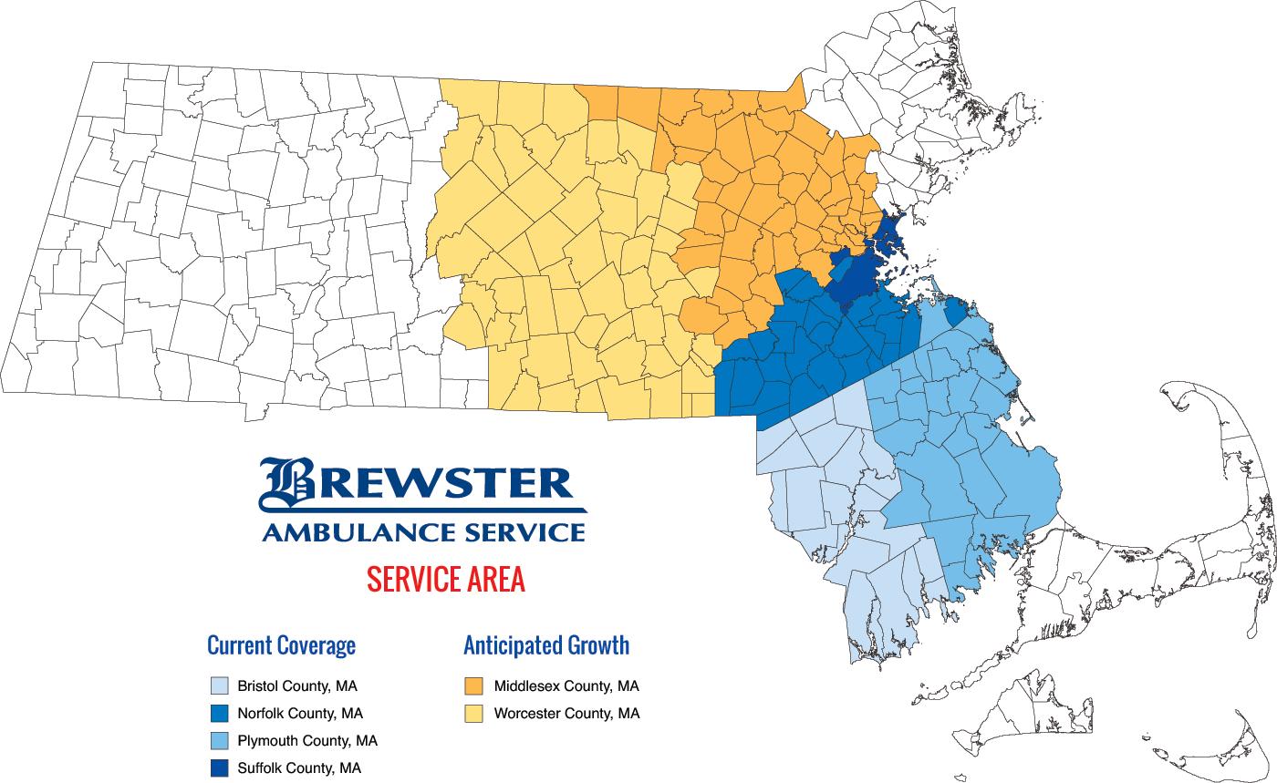 Brewster Ambulance Service Area