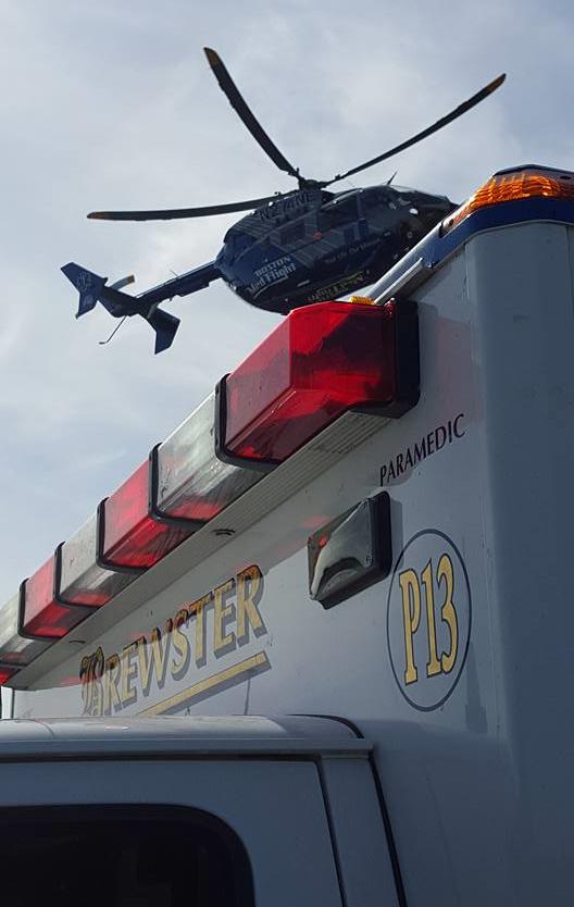 MedFlight Chopper and Brewster P13