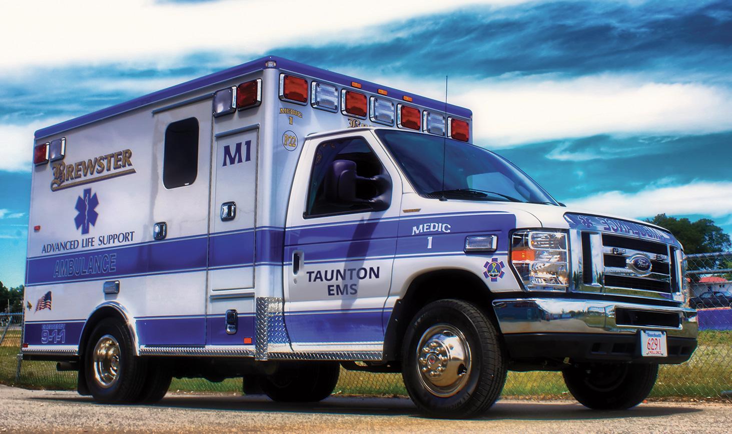 Taunton ALS ambulance