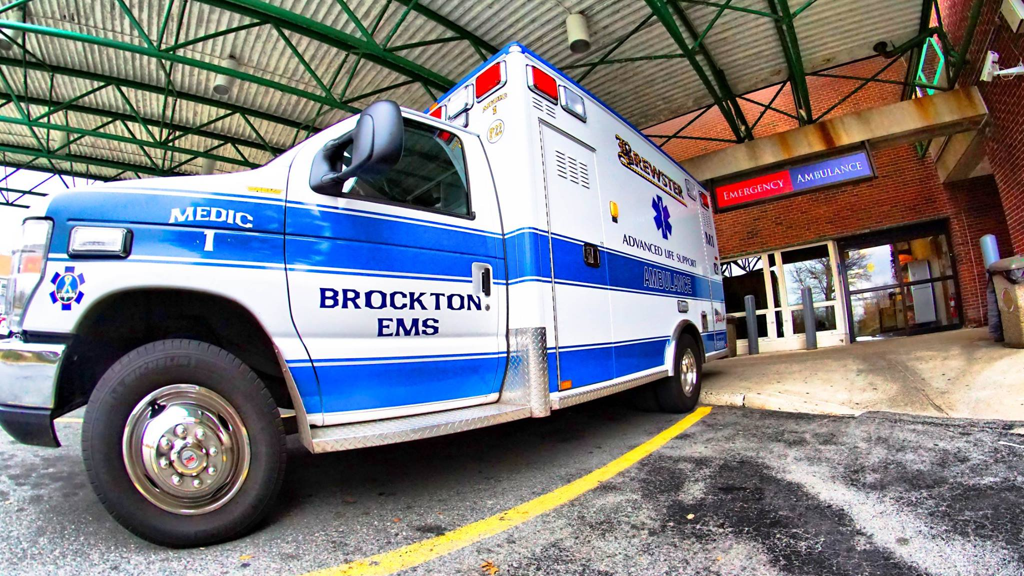 Brockton ALS ambulance