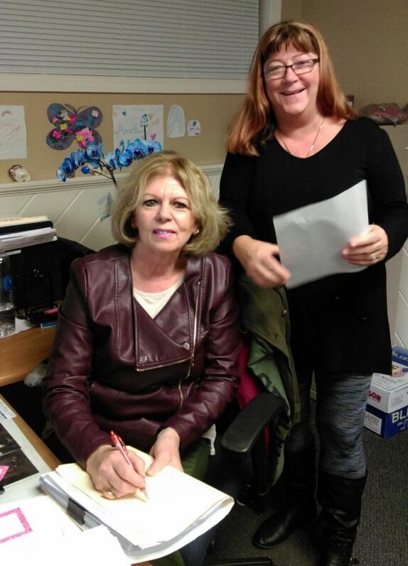 Deb Gilbody and Sue Sullivan