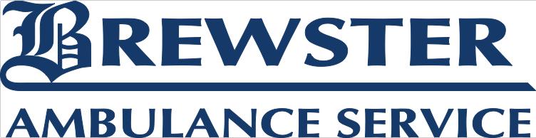 Brewster Ambulance Service logo - blue, eps file, preferred use over black