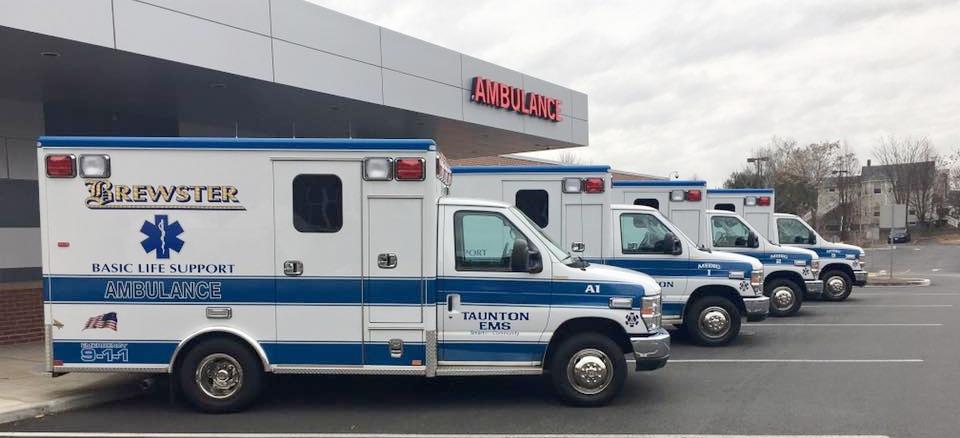 Taunton ALS trucks at ER