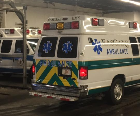 EasCare BLS in the 285 garage