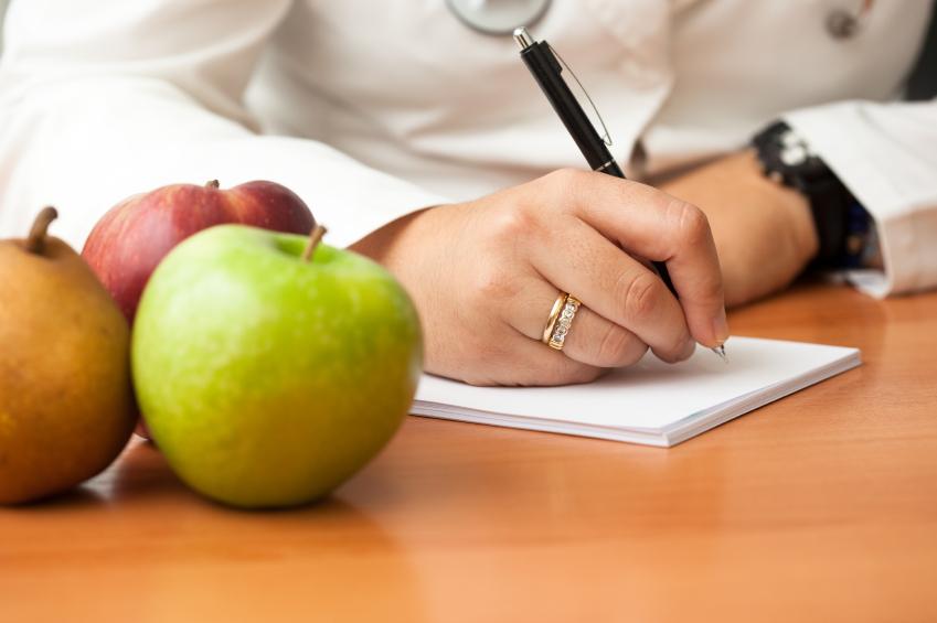 Doctor writing prescription