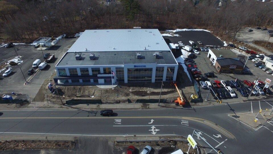 Full aerial view, February, 2017