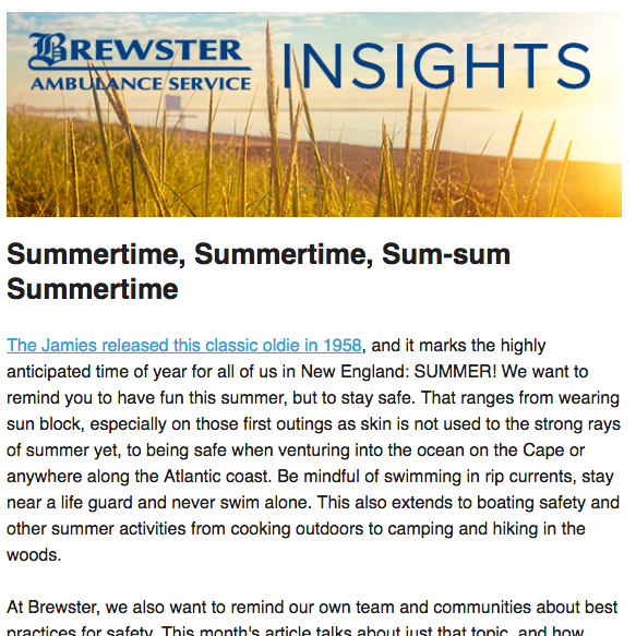 Brewster Insights June 2017