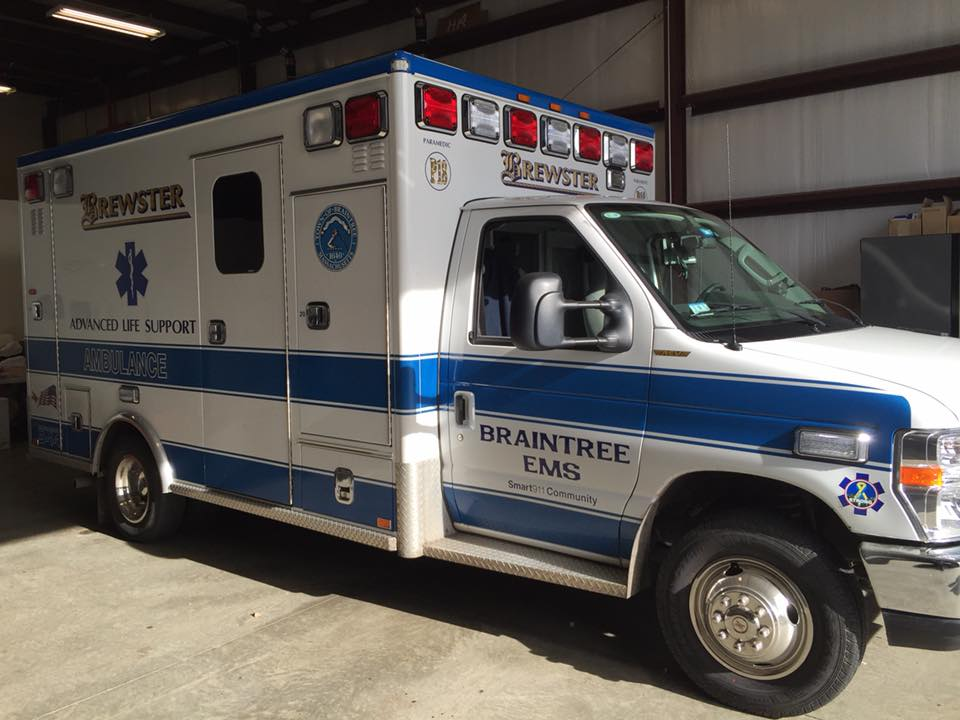 Braintree ALS truck