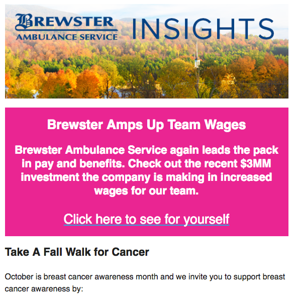 October 2017 Brewster Insights