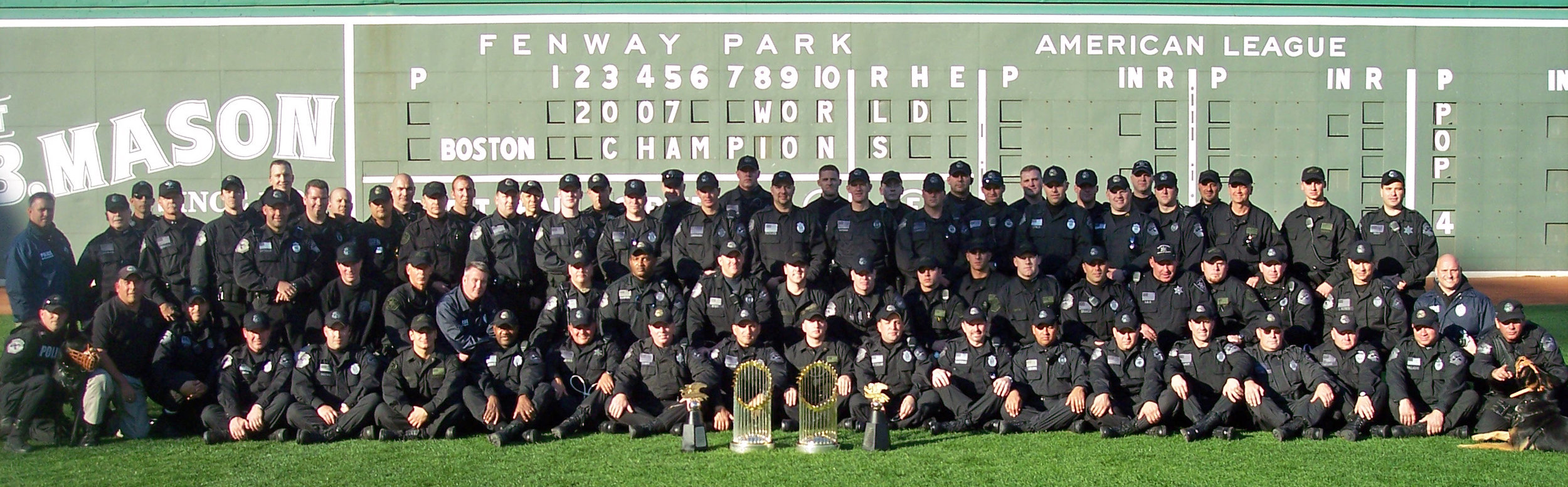 MetroLEC SWAT Team after the 2007 World Series