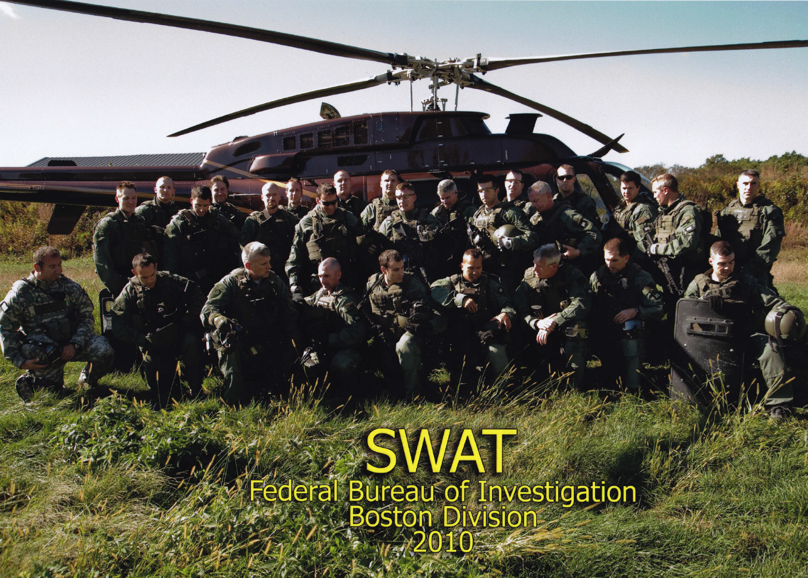 2010 SWAT FBI Boston Division