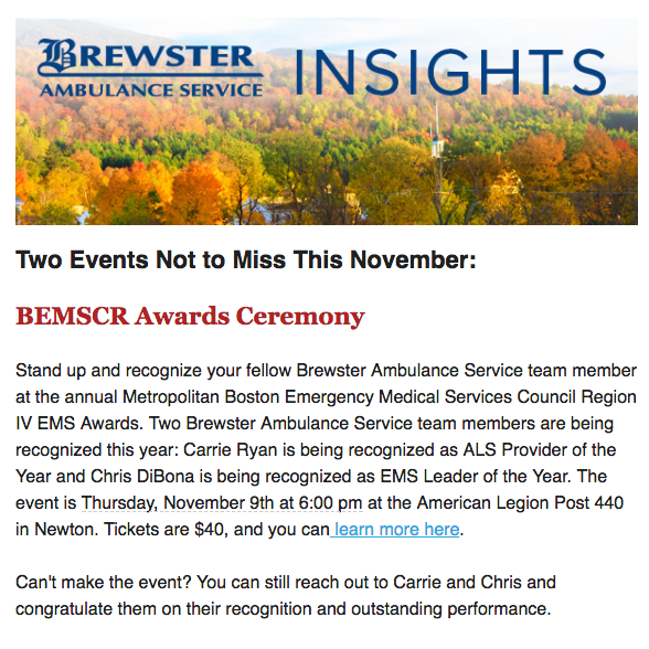 Brewster Insights Newsletter November