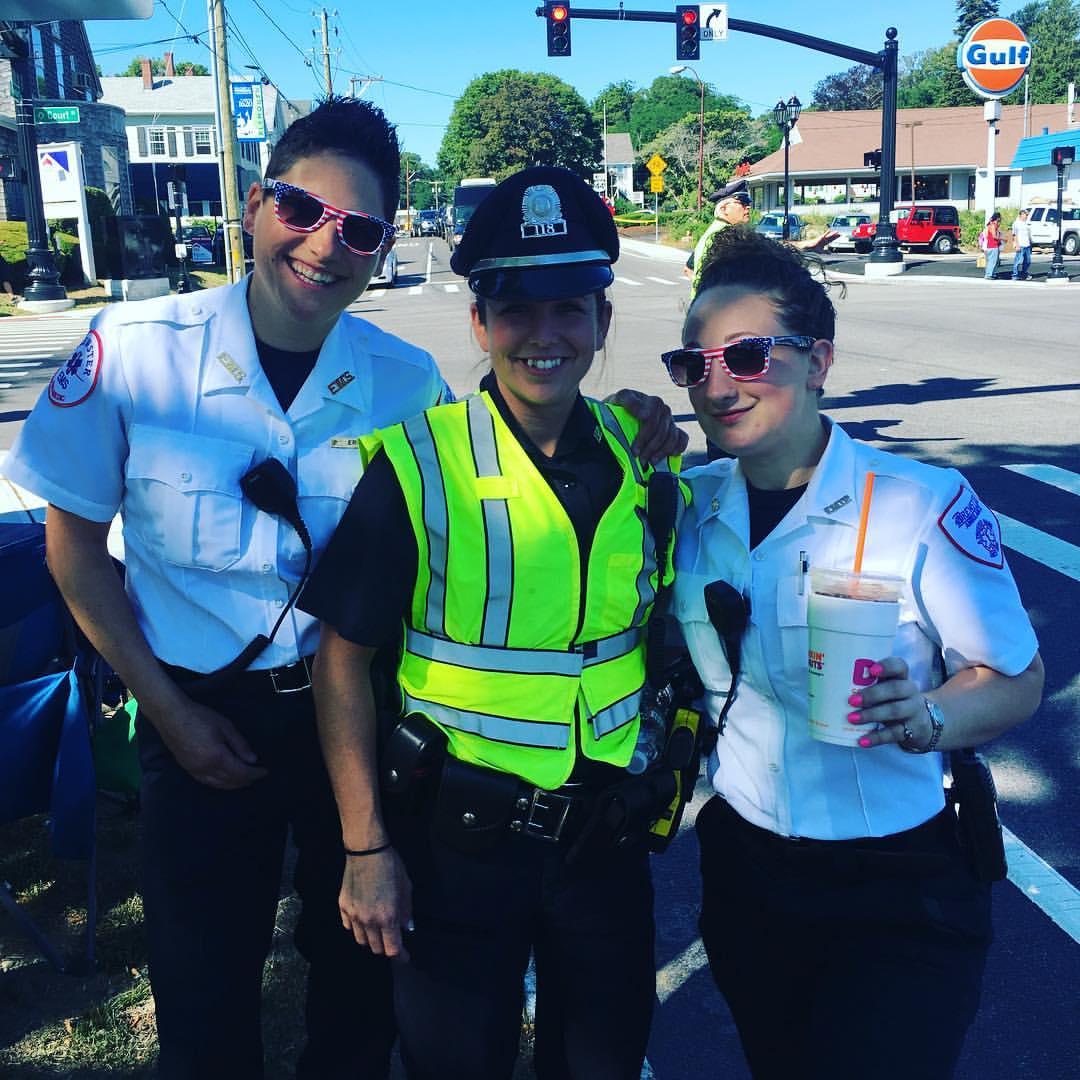 Erika Apicella,Nichole Alden and Emily Abraham