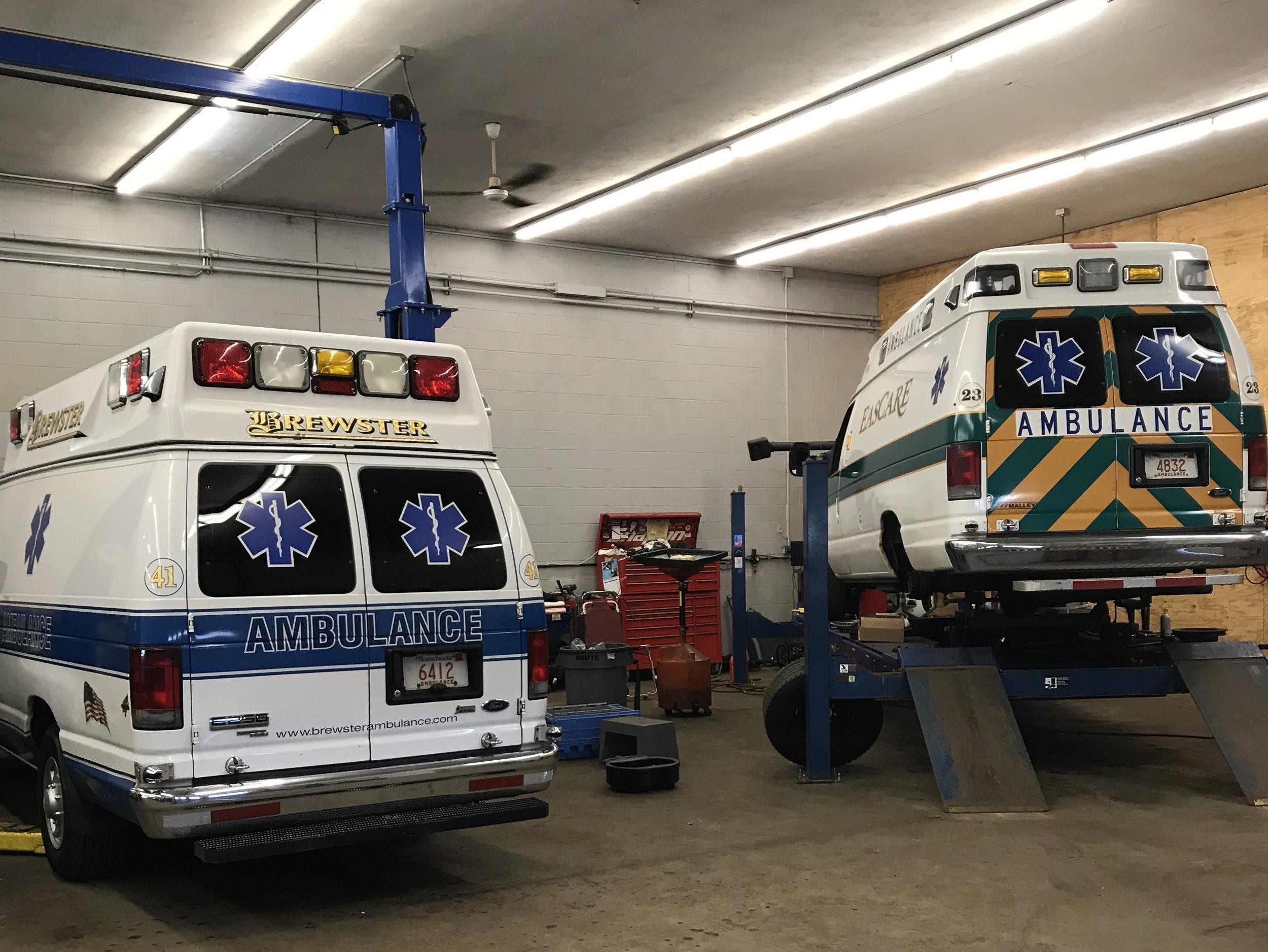 Maintenance garage