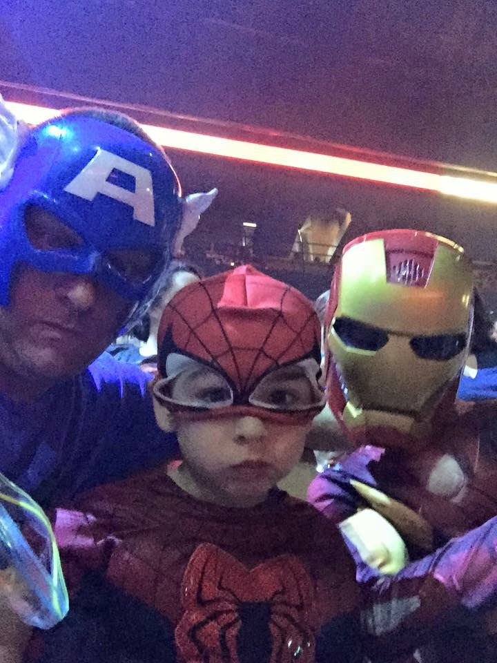 Tom and his kids