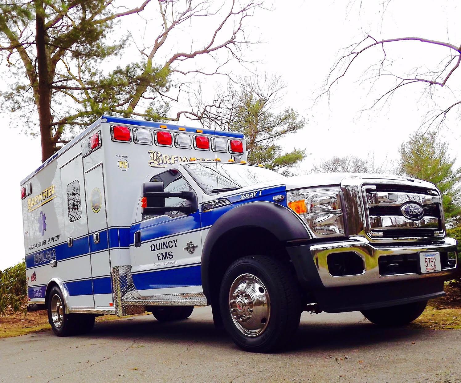 Quincy ALS truck