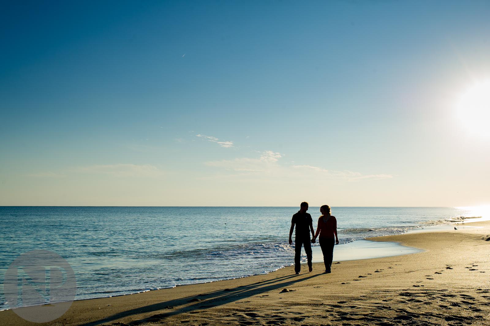 wedding photography north carolina - dc photographer - altantic ocean - beach photography engagement photo denis kaleigh-2.jpg