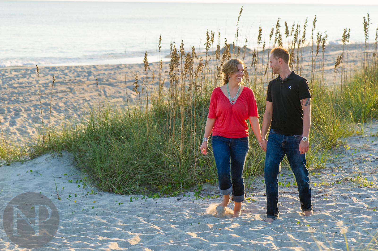 wedding photography north carolina - dc photographer - altantic ocean - beach photography engagement photo denis kaleigh-6.jpg