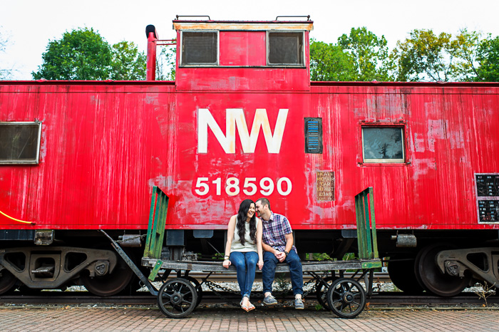 washington dc wedding photographer noah hayes georgetown dc va md alexandria wedding photography destination photography high end weddings _ jennifer vinny clifton va historic train tracks small town engagement session.jpg-8.jpg