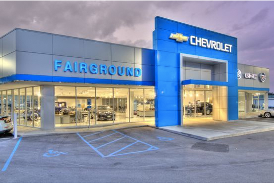 GM New Dealership renovation project completed by Slone Architects & Interior Design.