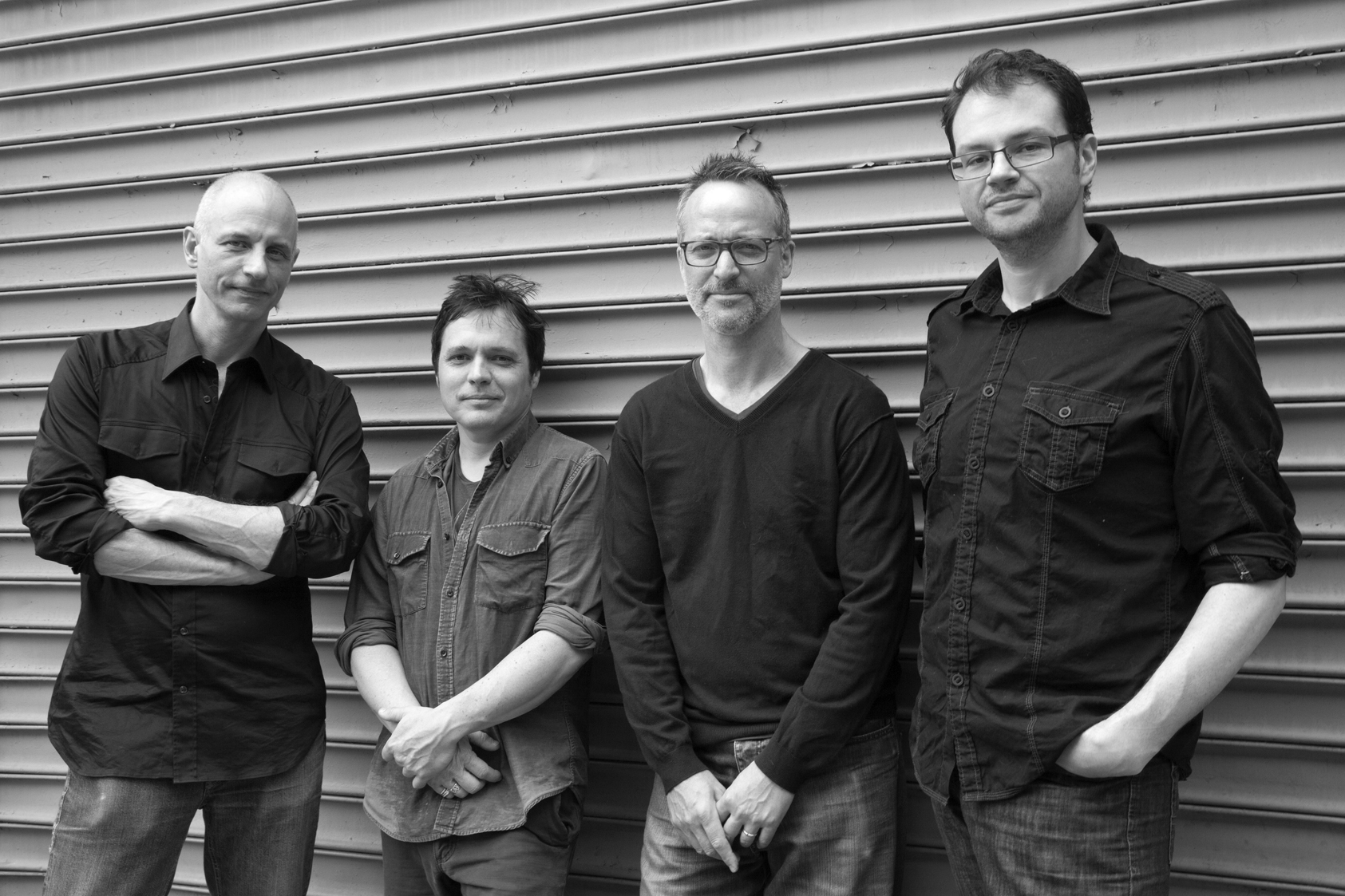 Bonebridge is: Erik Friedlander, cello; Doug Wamble, guitar; Trevor Dunn, bass; Michael Sarin, drums.