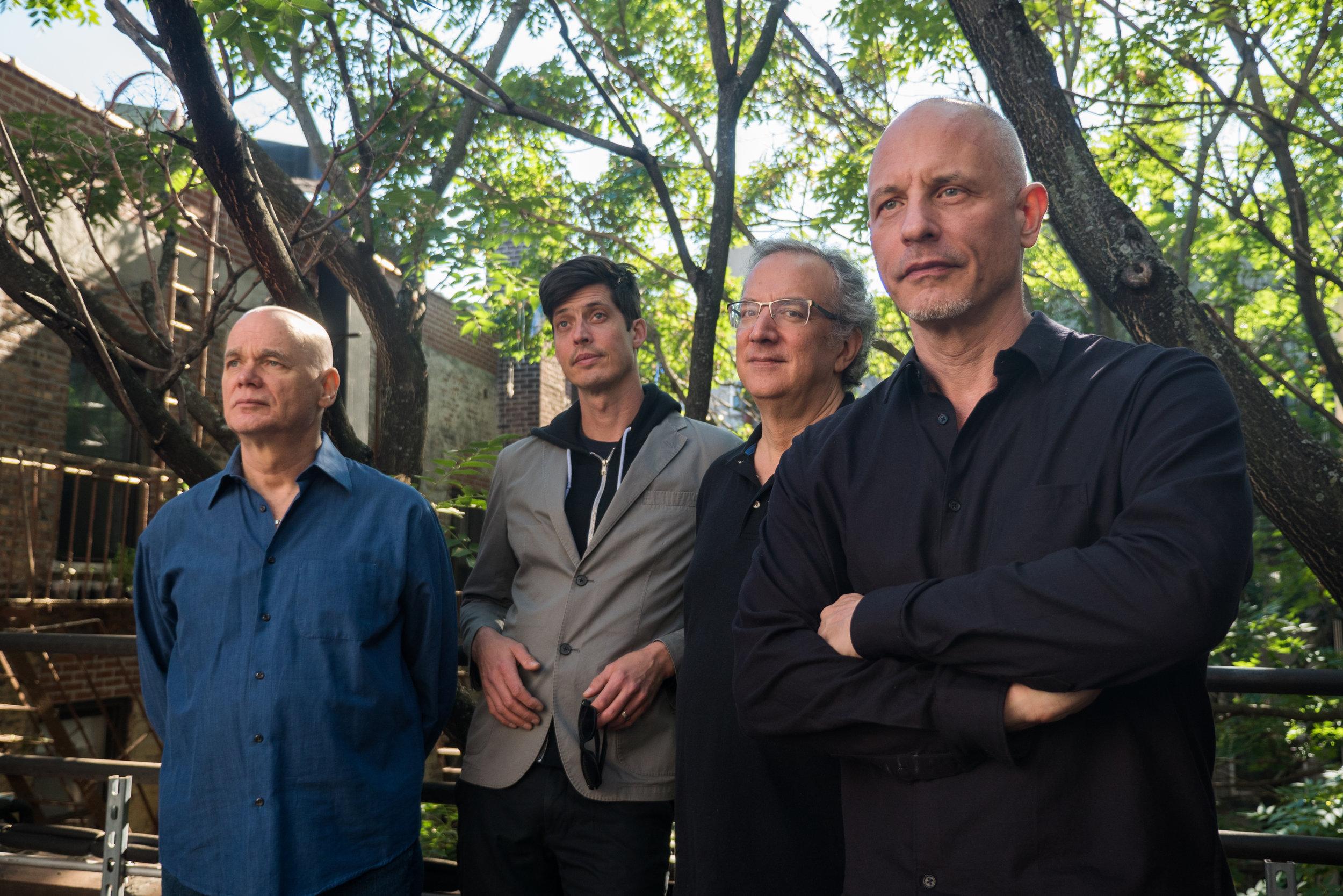 The Throw: Mark Helias, bs; Ches Smith, dr; Uri Caine, pno; Erik Friedlander, cello