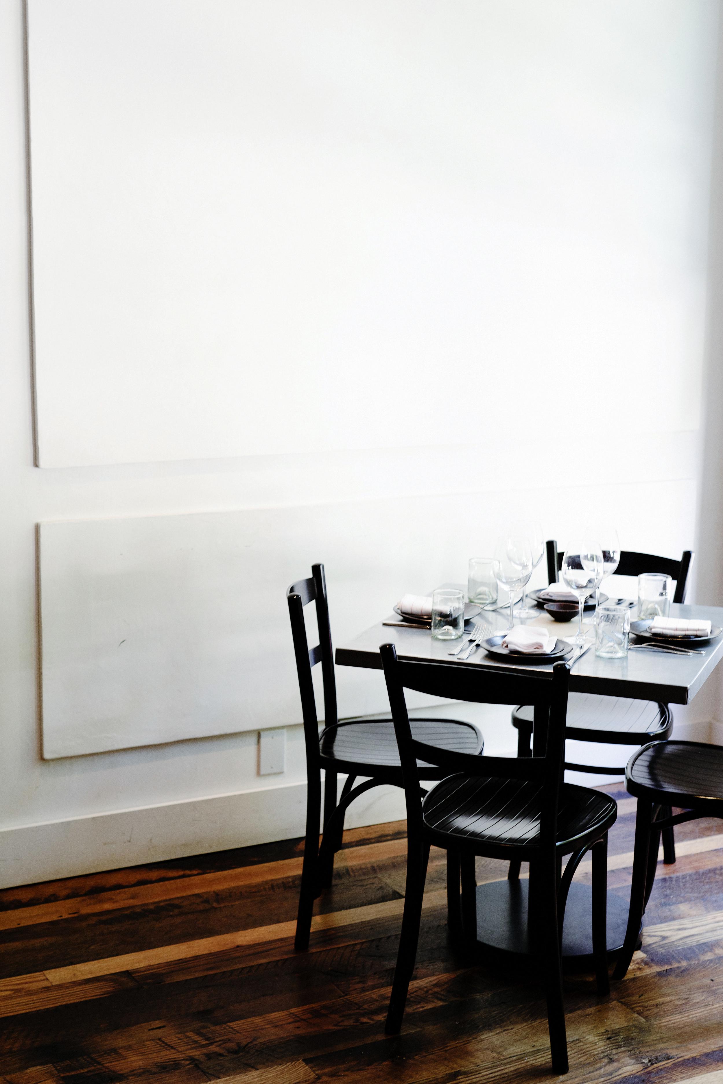 No.246 | Smith Hanes. restaurant interior seating
