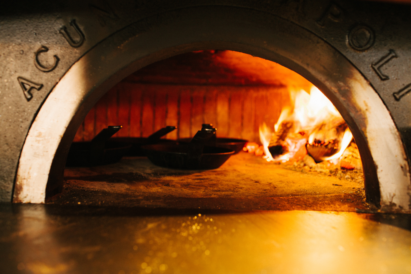 The Oyster bar at The Optimist | Smith Hanes. oven detail
