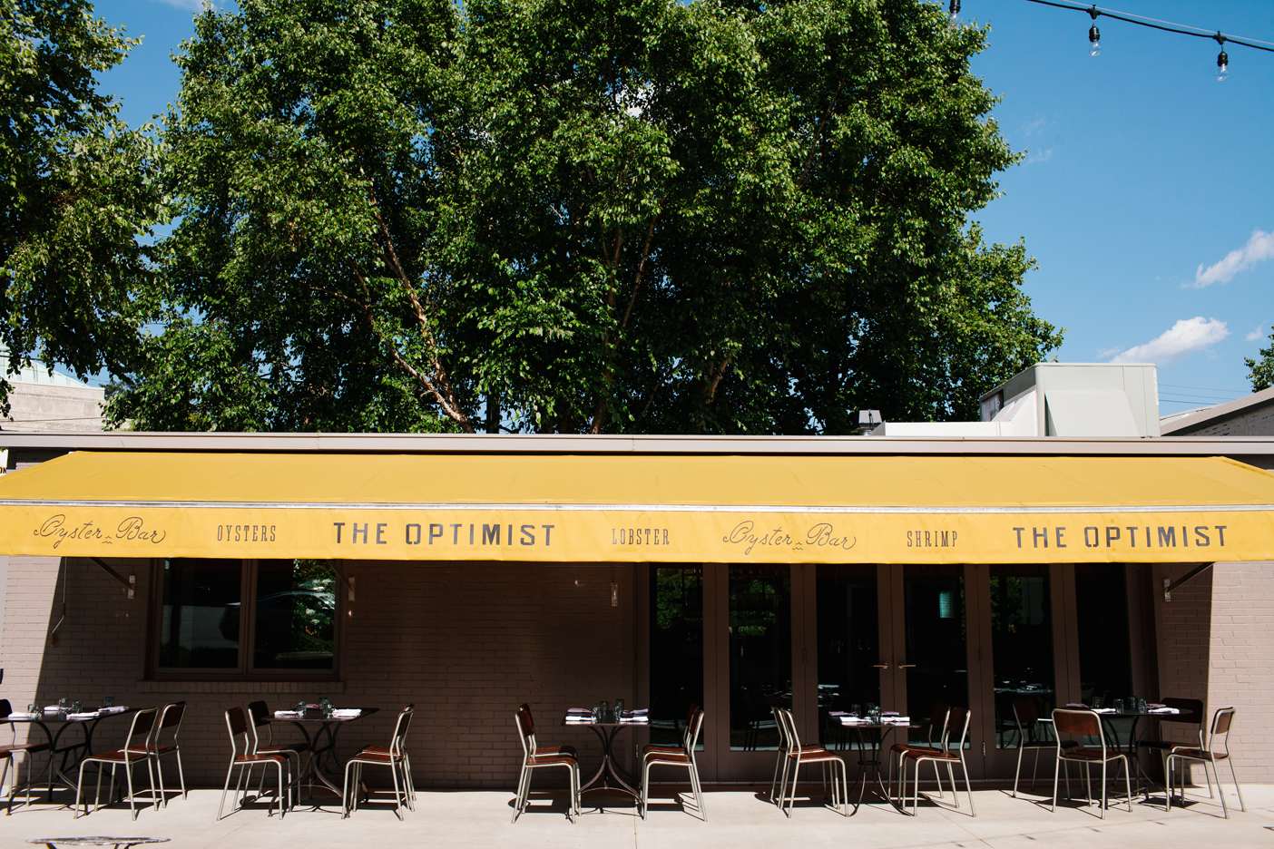 The Oyster bar at The Optimist | Smith Hanes. exterior