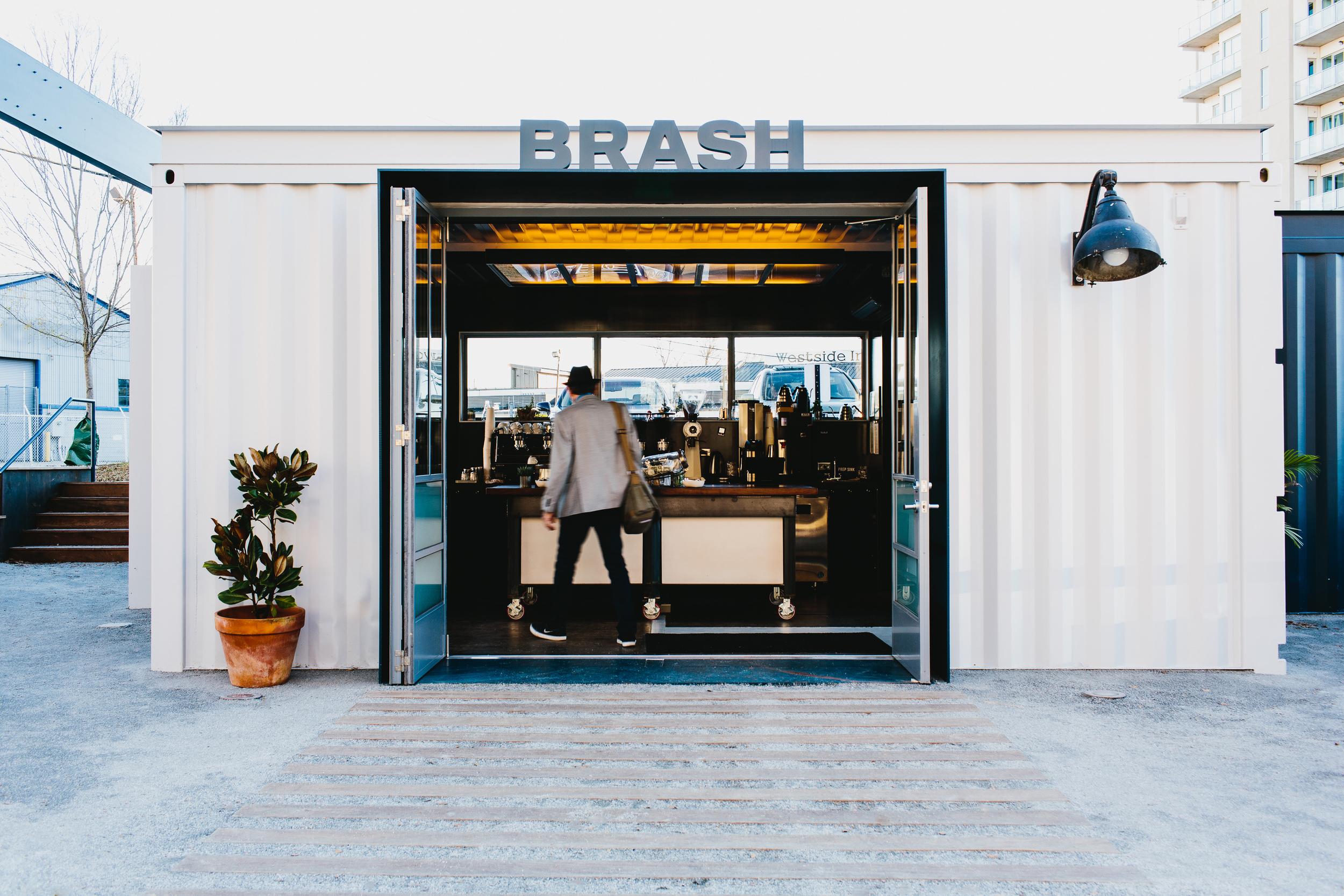 Brash Coffee   Smith Hanes. cafe exterior