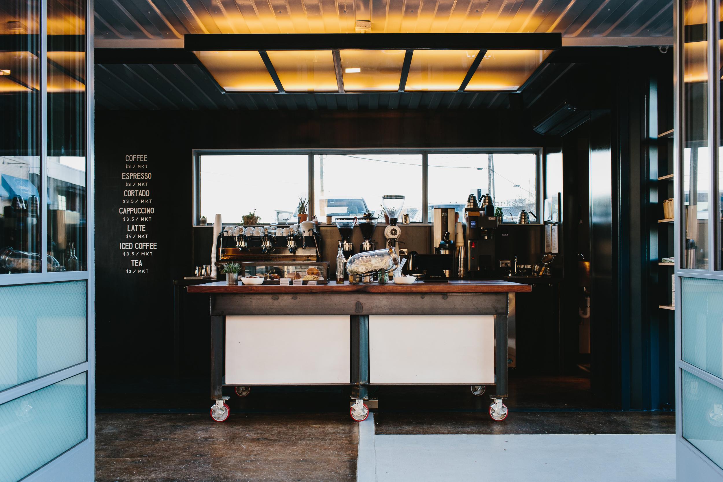Brash Coffee   Smith Hanes. cafe bar