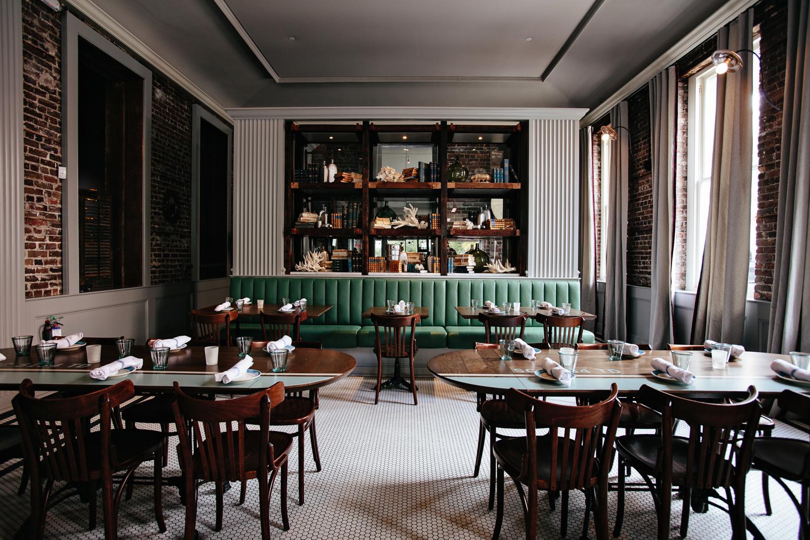 The Darling   Smith Hanes. restaurant curio cabinet