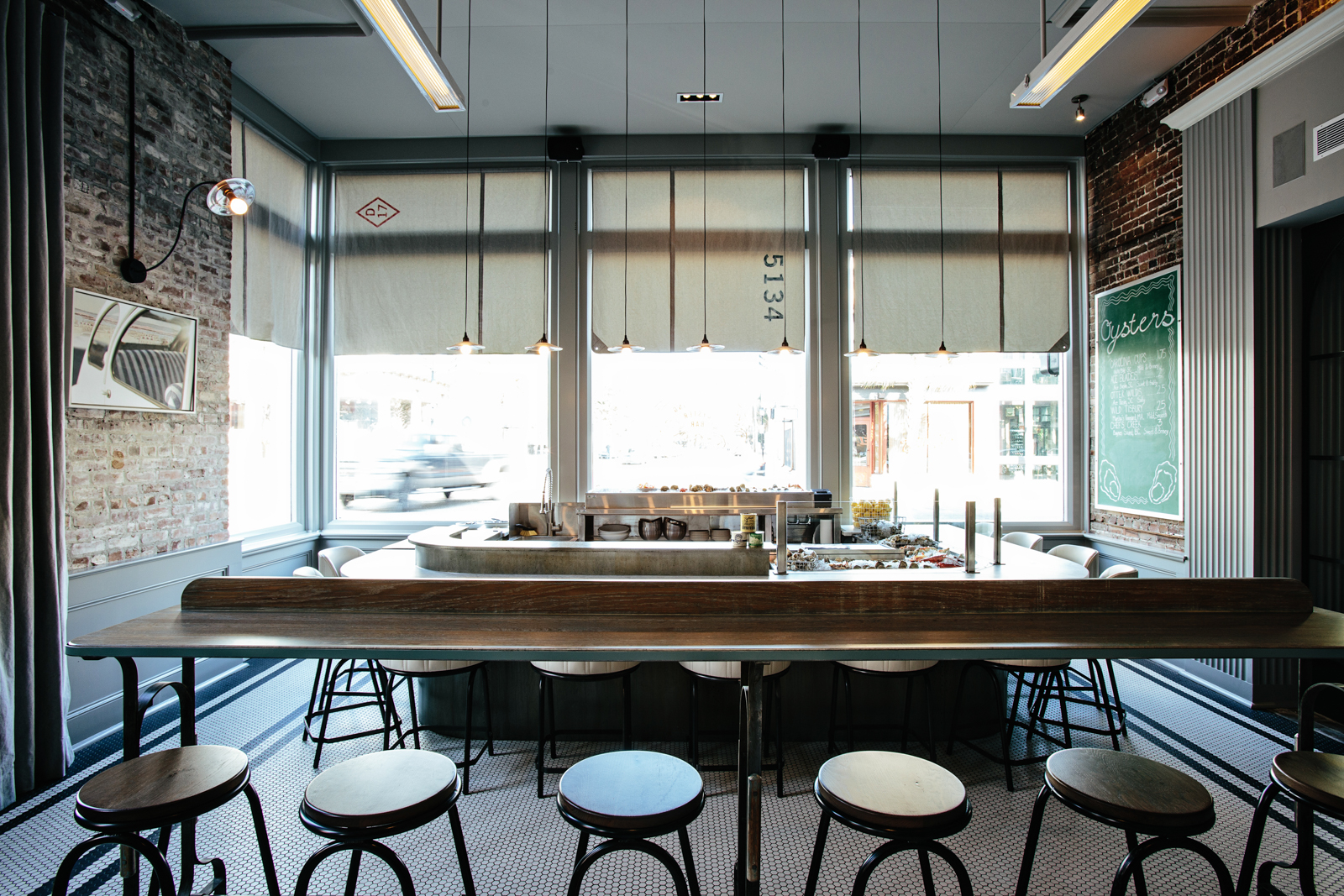 The Darling   Smith Hanes. restaurant drink rail