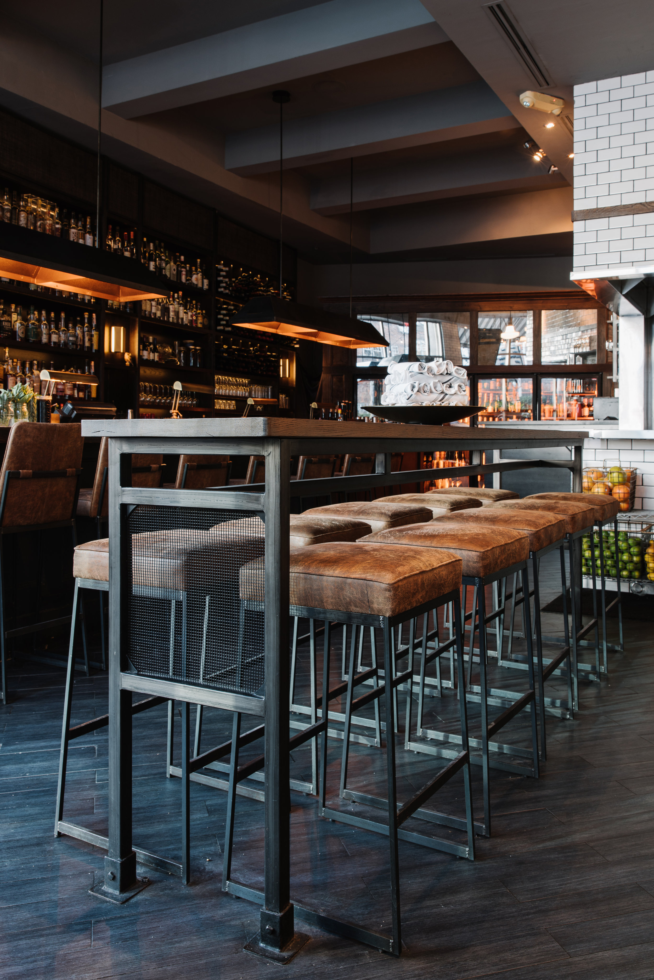 The Lawrence | Smith Hanes. Drink Rail