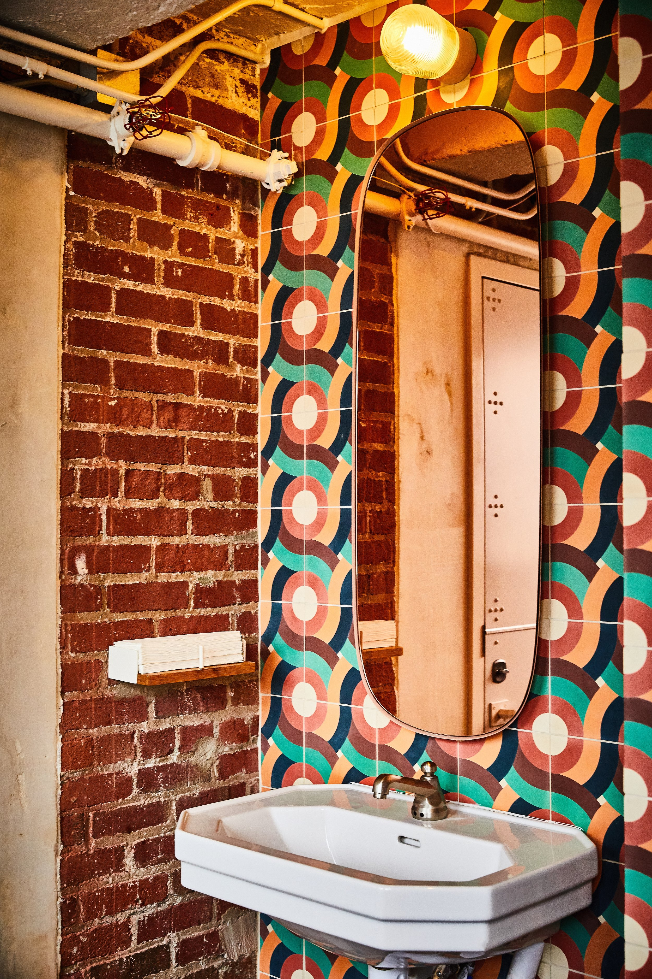 Superica Charlotte | Smith Hanes. Bathroom Detail