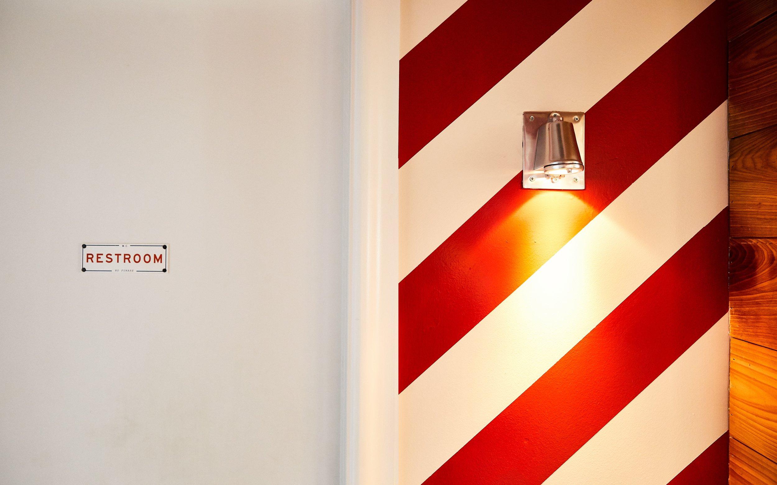 Southside Slice | Smith Hanes. Bathroom Hallway