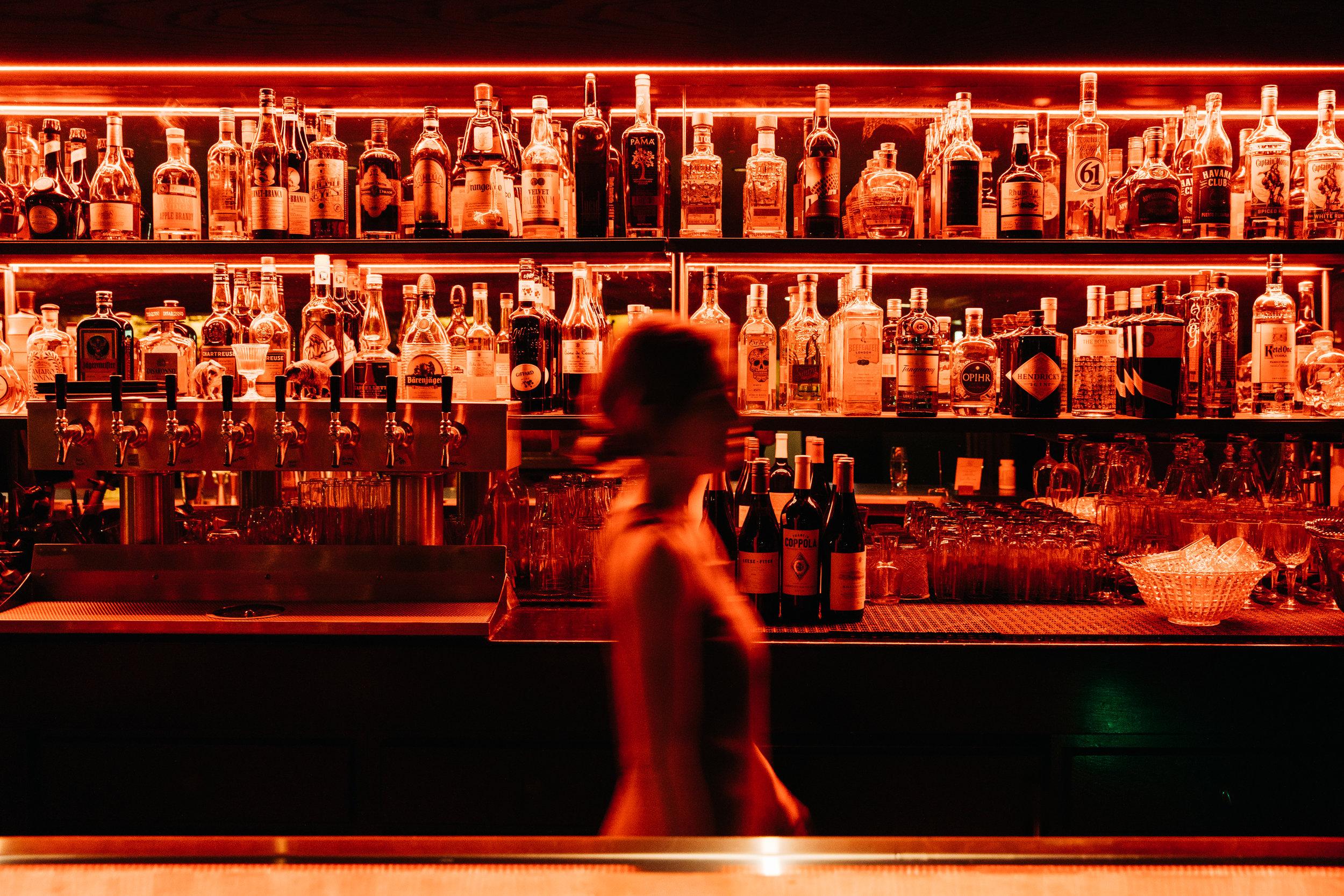 St. Burch Tavern | Smith Hanes. Bar at the Den