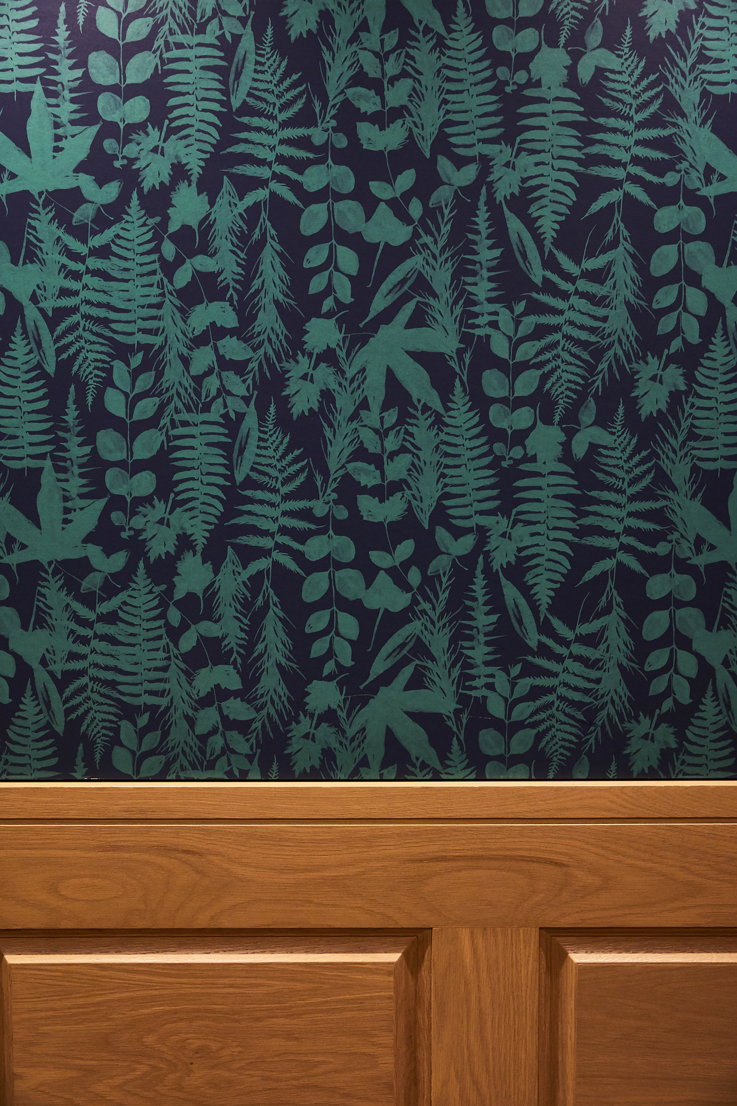 Woodlark Lobby | Smith Hanes. Elevator Wallpaper