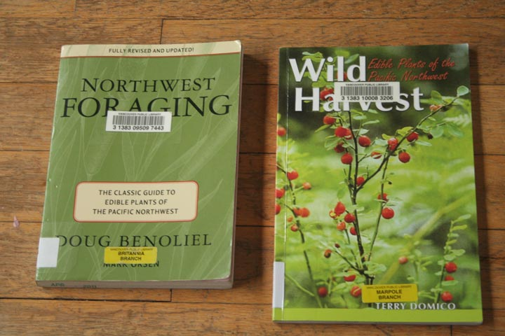 Northwest Foraging  by Doug Benoliel and  Wild Harvest  by Terry Domico