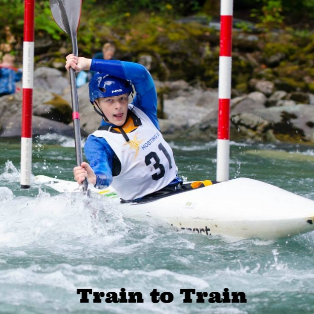 Athlete Development - Train to Train athletes are in their second and third years of paddling. At this level, these young racers are introduced to the excitement of whitewater which opens the door to new possibilities for fun and adventure. At this point, our athletes are developing skills to help them achieve success at Provincial and National level events.Target Age: 12-16yrs