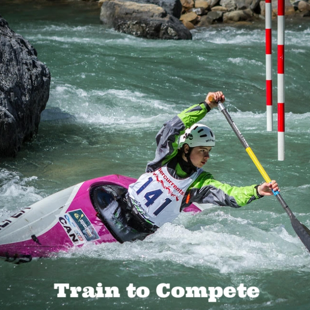 High Performance - Train to Compete athletes are now in their third or fourth year of paddling and are ready to make the step onto the national podium and Jr National Team. Focusing on refining their technical skills while learning more subtle tactical skills, these athletes are preparing to take on the whitewater world and dreaming of the Olympic Games.Target Age: 14-21yrs